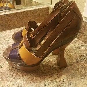High heel Marni shoes